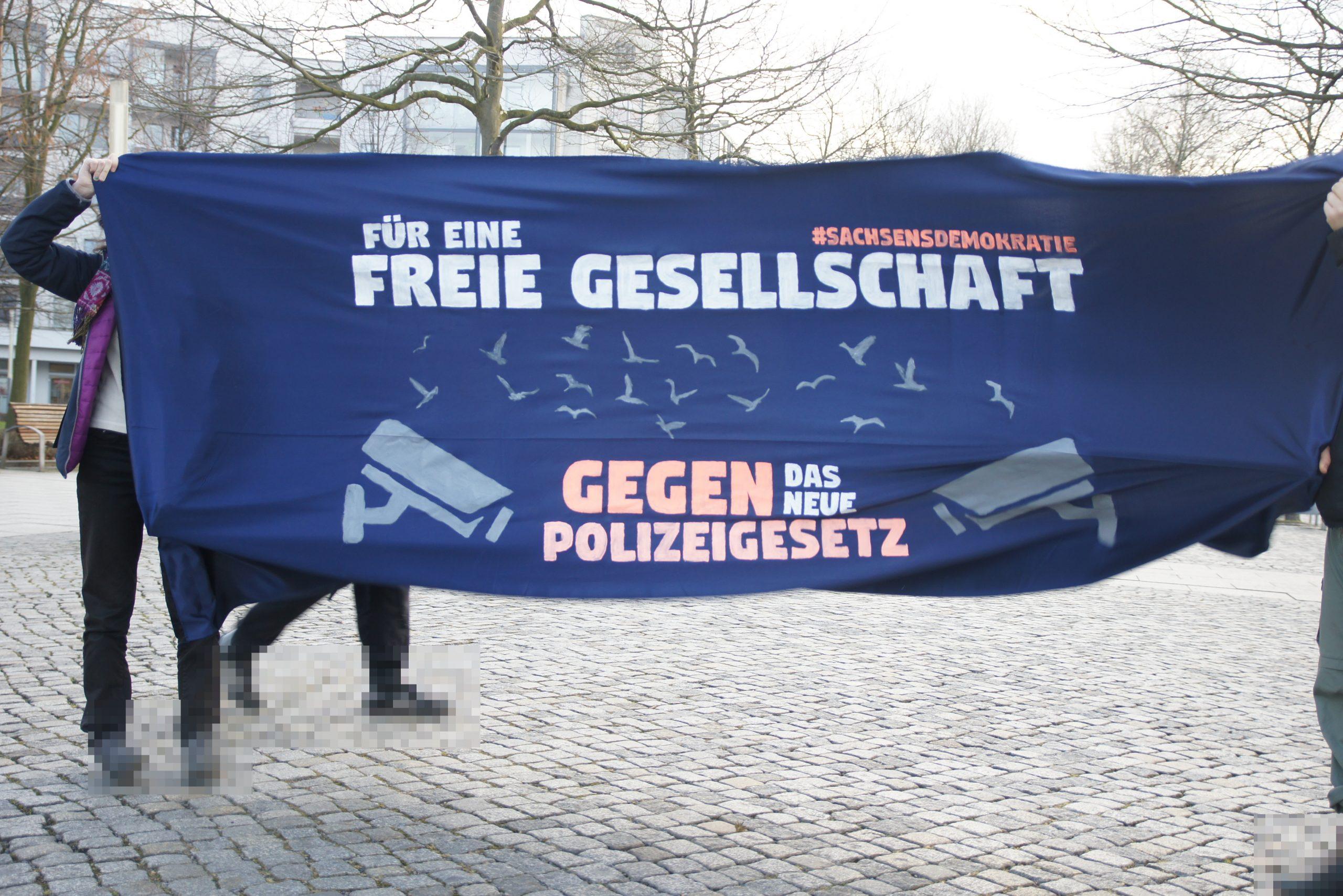 Stoppt das neue Polizeigesetz in Sachsen!