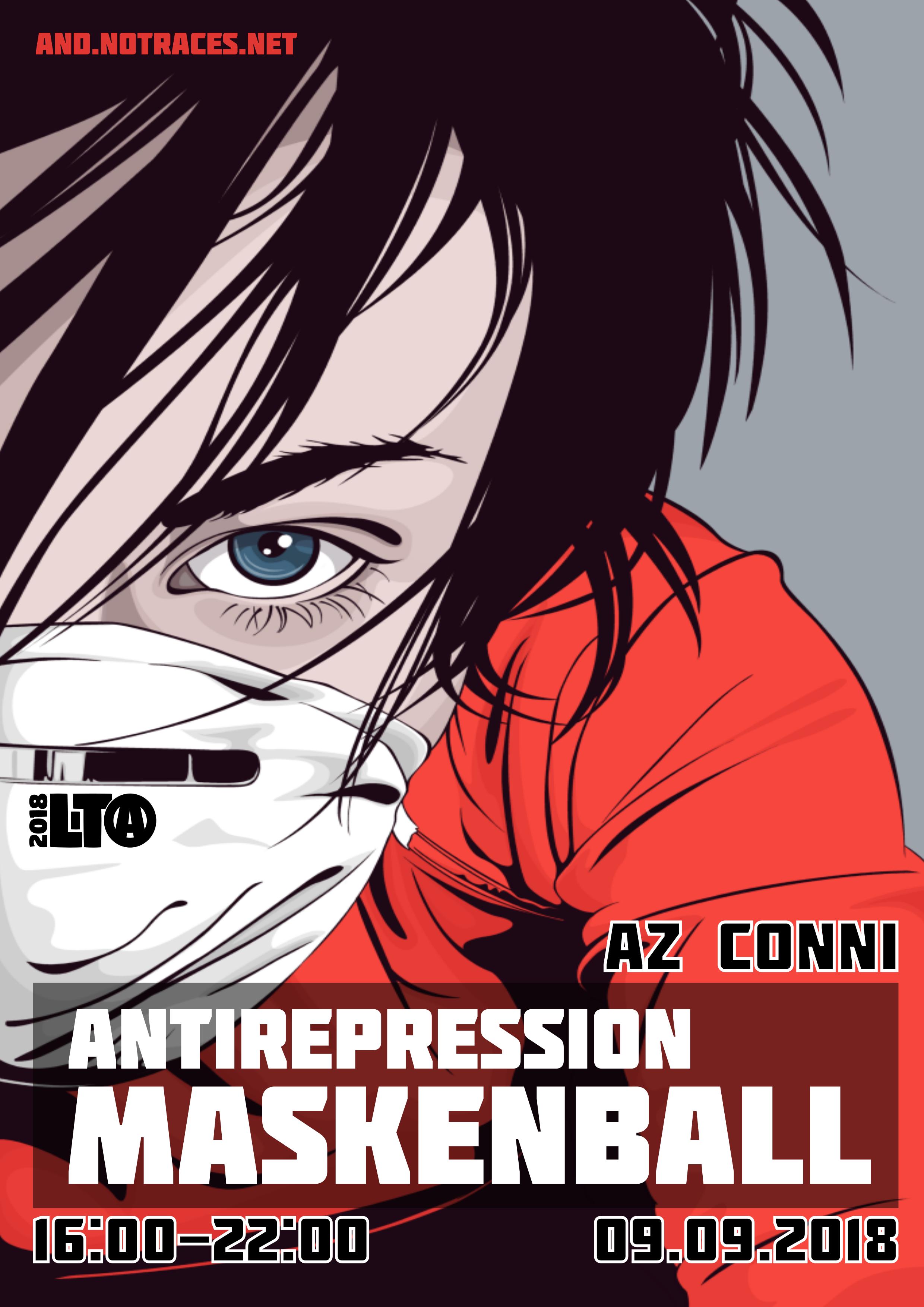 09.09 – Antirepressions Maskenball