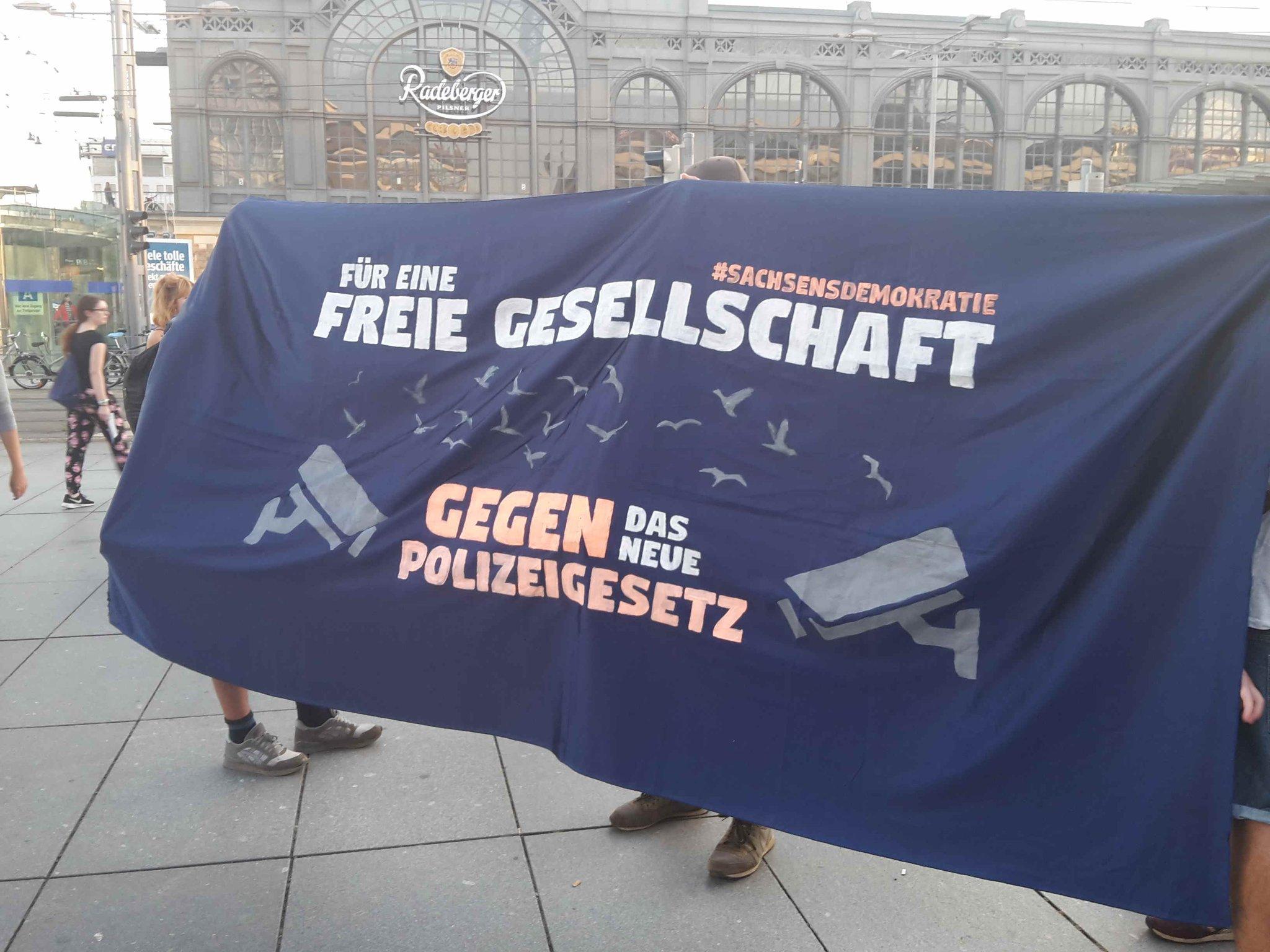 Demonstration am 6.10. – Gegen das neue Polizeigesetz – gegen den Rechtsruck