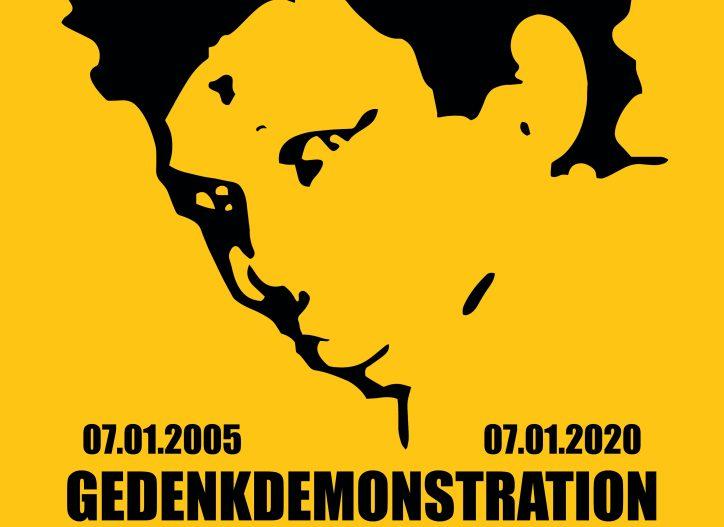 Infonachmittag: Initiative in Gedenken an Oury Jalloh und gemeinsame Anreise nach Dessau am 7. Januar zum 15. Todestag