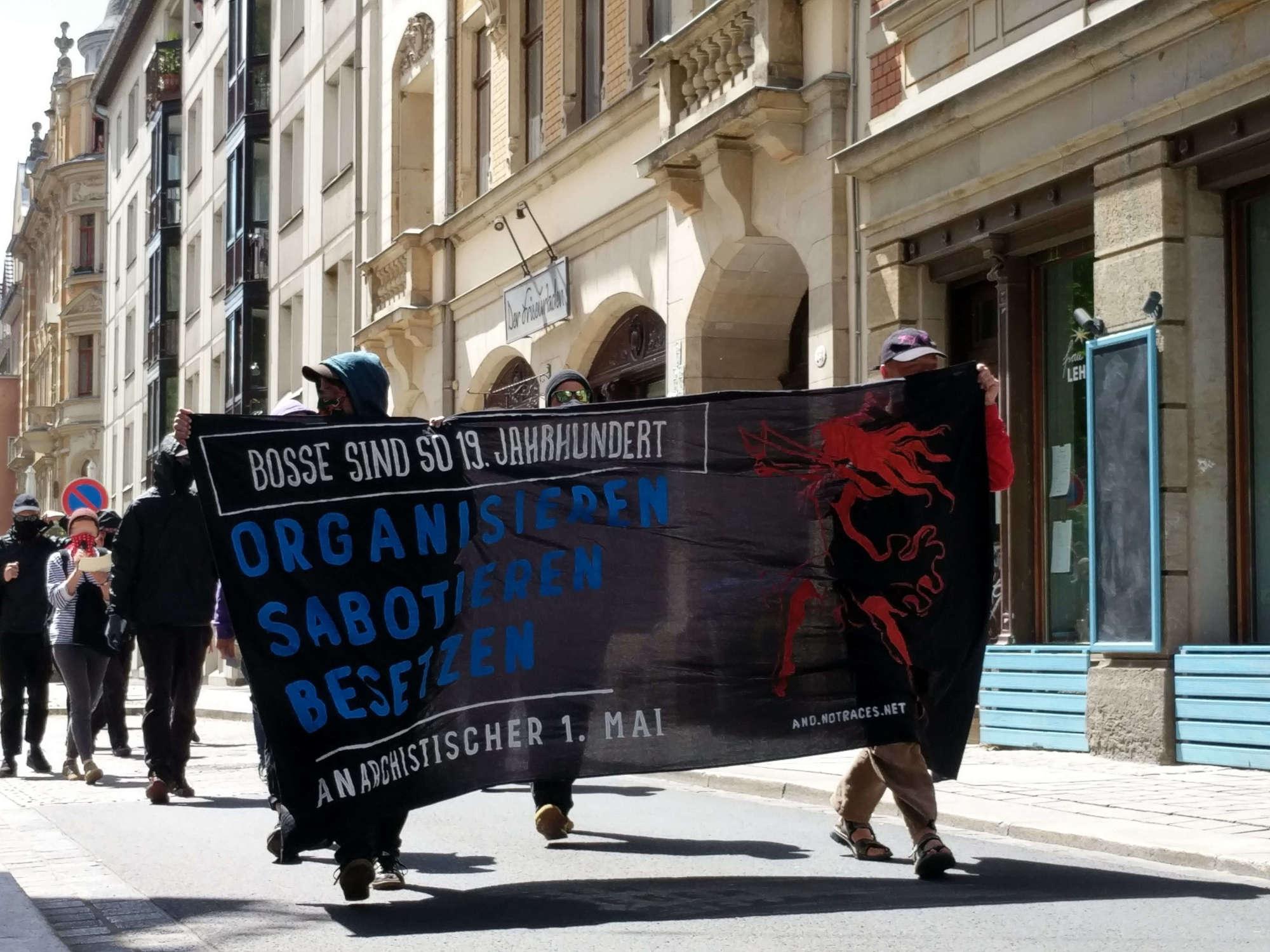 Anarchistischer 1. Mai in Dresden