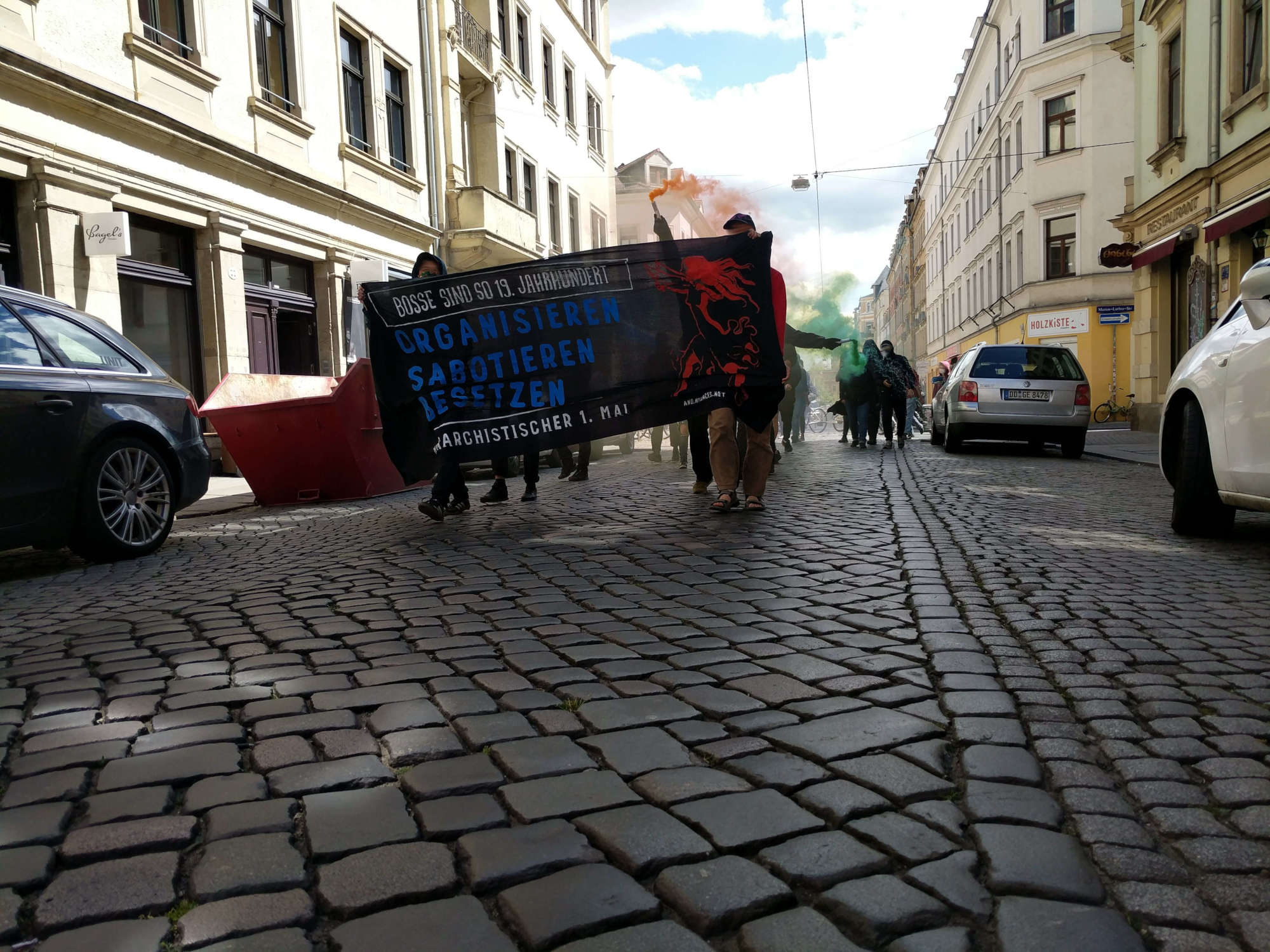 1. Mai Demo in Dresden