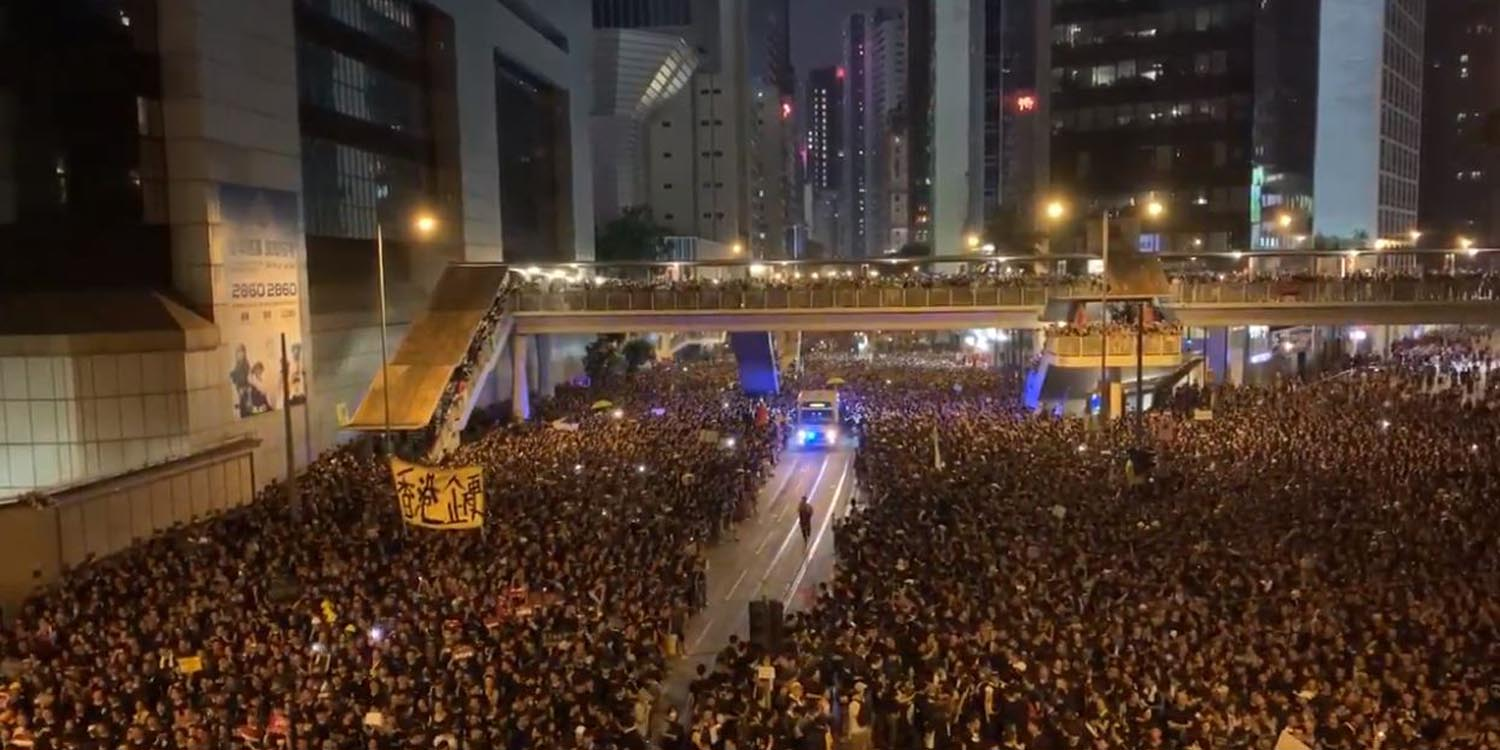 Elephant in the room – Liberate Hong Kong an interview about the protest #21
