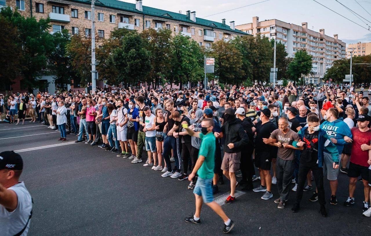 Unterstützt den Aufstand in Belarus – Crowdfunding Kampagne bei FireFund