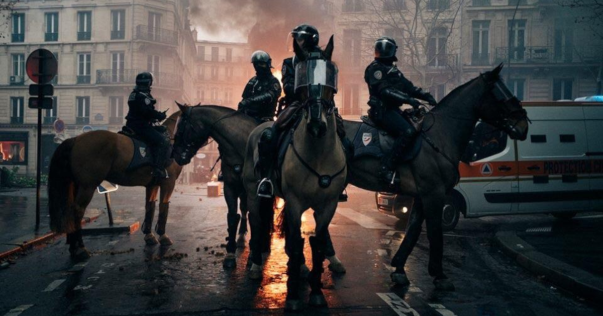 Police in France – increasing attack on society since the state of emergency