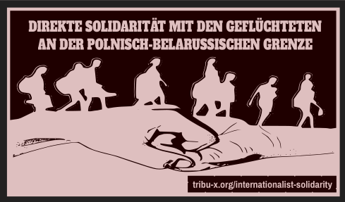 Direct solidarity with the refugees on the Polish-Belarusian border